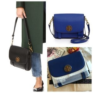 Tory Burch Alastair Pebbled Leather Bag